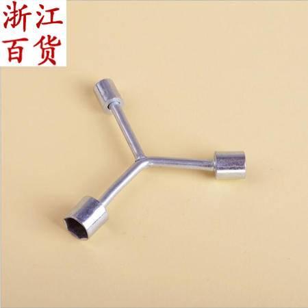【浙江百货】厂家直销镀铬Y性扳手--中三叉/三叉扳手 JQF 02123