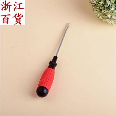 【浙江百货】带磁一字起  5寸螺丝刀 螺丝刀 JQF 05053