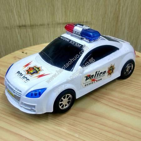 【浙江百货】555-7盒装特警战车万向带灯光音乐LH F2089