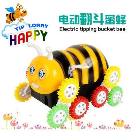 【浙江百货】660电动蜜蜂翻跟斗  LH  F3103