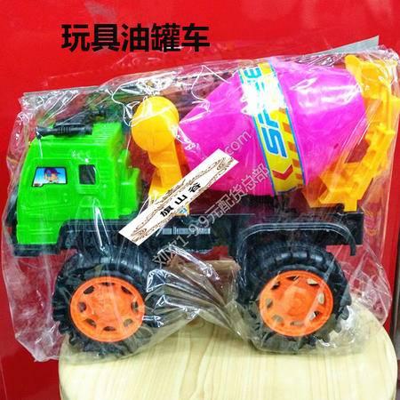 【浙江百货】3676彩色油罐车玩具 LH  F4131