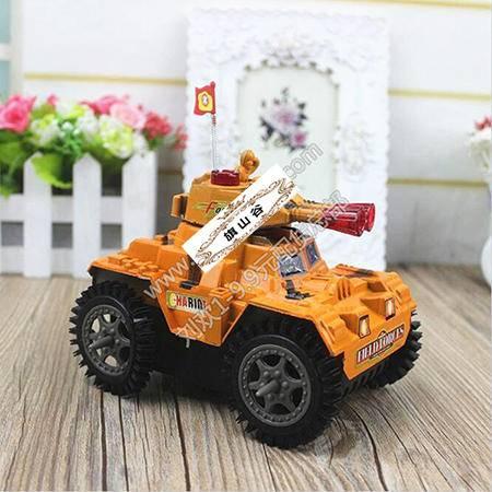 【浙江百货】2658电动灯光玩具坦克车 LH  F2216