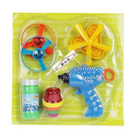 【浙江百货】GF234B彩盒装飞碟组合玩具 LH  F2335