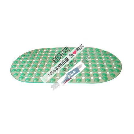 【浙江百货】批发 90号透明椭圆点点圆珠防滑垫浴室垫多色混装  LH  F2345