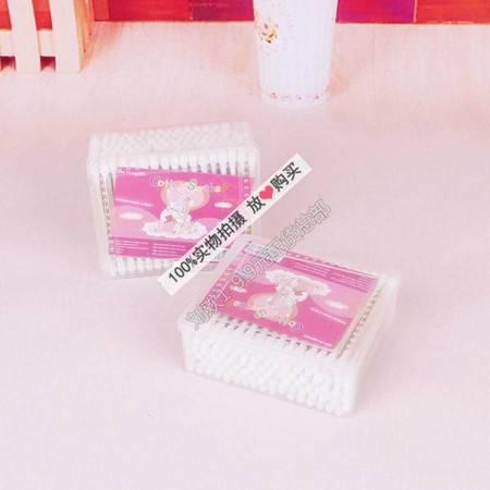 【浙江百货】批发 6盒装pp盒木棒棉签方盒 LH  F3004