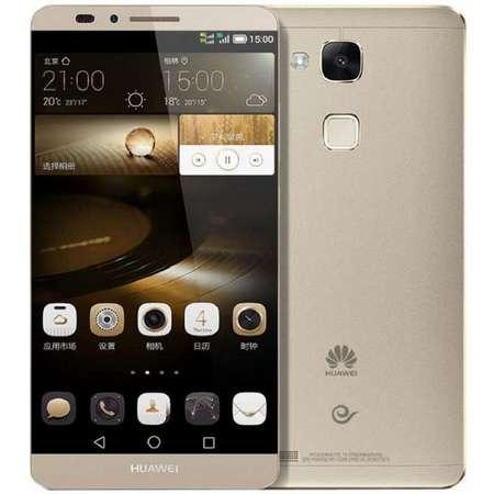 华为 Ascend Mate7 32G高配版 双卡双待双通 琥珀金 手机 电信4G (32G ROM
