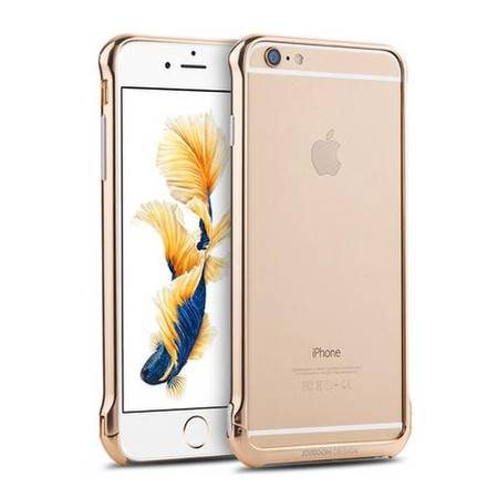 机乐堂 苹果6plus手机壳iPhone6Splus金属边框6保护套铝合金外壳