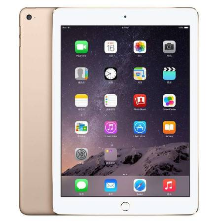 Apple iPad Air 2 金色 16G WLAN版 9.7英寸平板电脑 MGLW2CH/A