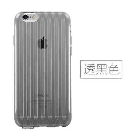 Joyroom iPhone6P 6SP    speaker行李箱保护壳 5.5  透灰