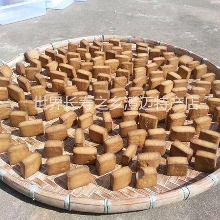 农家自制豆腐晒制豆腐  约720克 1包6块