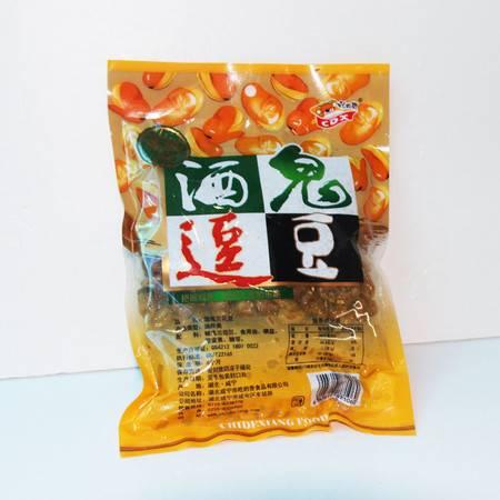 兰花豆 牛肉味蚕豆 400g炒货休闲食品豆类湖北零食零嘴 小吃袋装