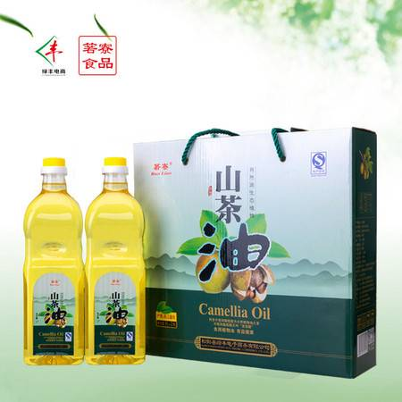 箬寮  山茶油  1升*2瓶