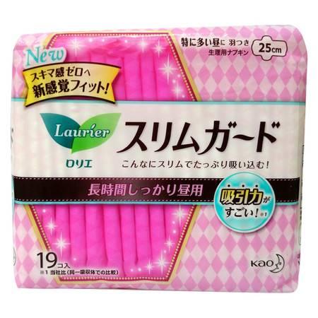 花王乐而雅 speed+零触感特薄长时间日用卫生巾19片