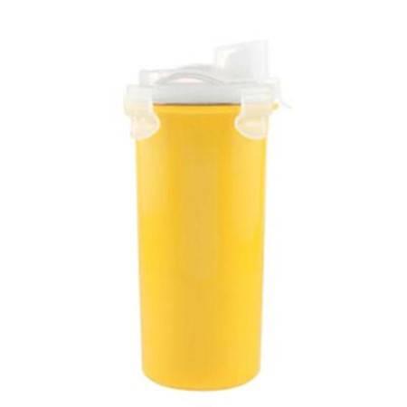 omilan/欧米兰 儿童学生餐具不锈钢大号吸管水杯防漏真空保温杯