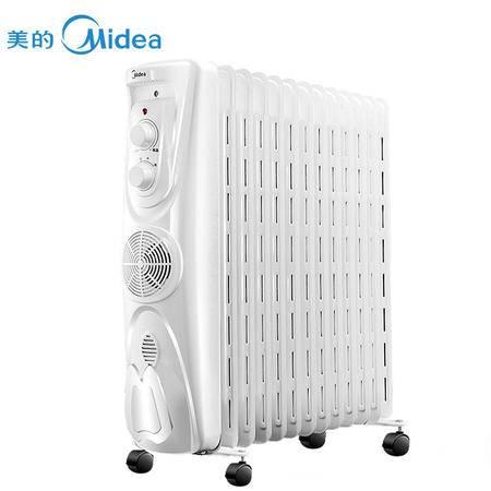 美的(Midea)NY2513-17EW 速暖电热油汀取暖器/电暖器/电暖气
