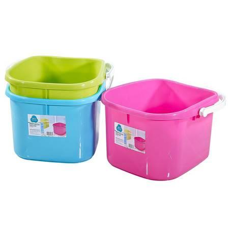 茶花 塑料盆塑料桶水桶舒益洗脚盆 0351