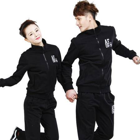竞技龙 情侣款运动套装 舒适跑步运动装 T13363