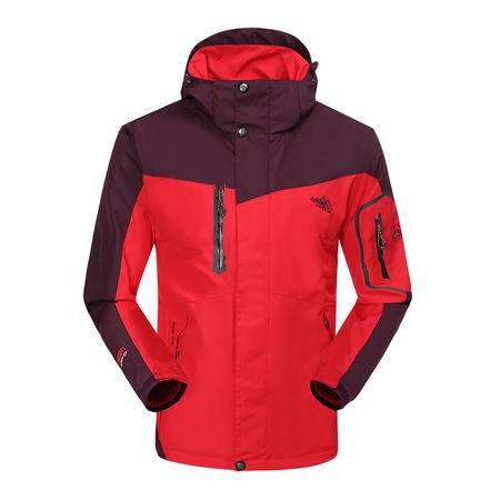 竞技龙冲锋衣 男女款两件套三合一含内胆抓绒保暖户外冲锋衣 F113377