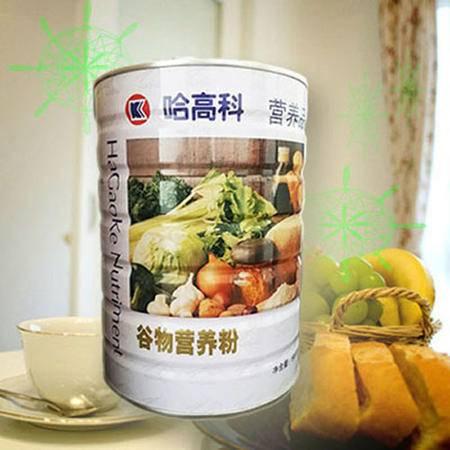 谷物营养粉哈高科代餐青中老年营养包邮 含蛋白螺旋藻800