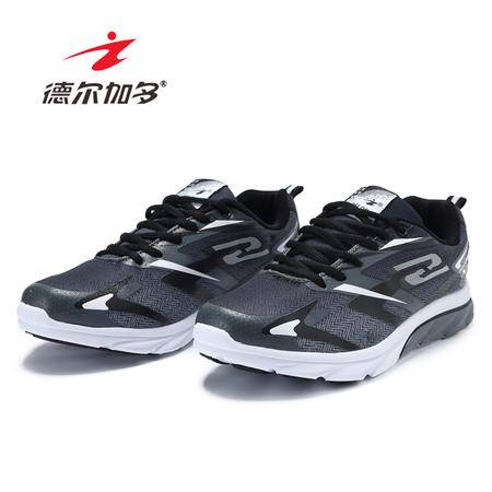 德尔加多2016男士运动鞋春夏新款男休闲跑步鞋网布透气旅游鞋耐磨慢跑鞋91626