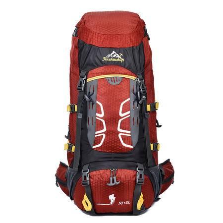 户外尖峰50+5L户外双肩运动包防水尼龙登山包 徒步旅行背包263