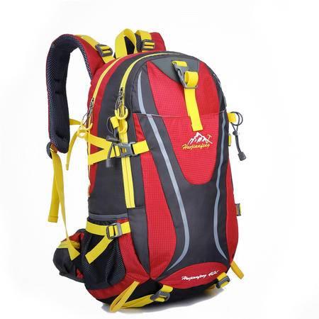 户外尖峰新款时尚运动登山包 防水旅行包 男女通用双背 1365升级