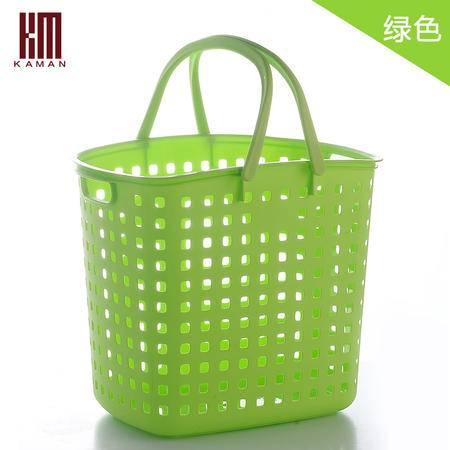 kaman塑料脏衣篮大号 洗衣篮脏衣服收纳筐脏衣桶收纳篮脏衣篓桶