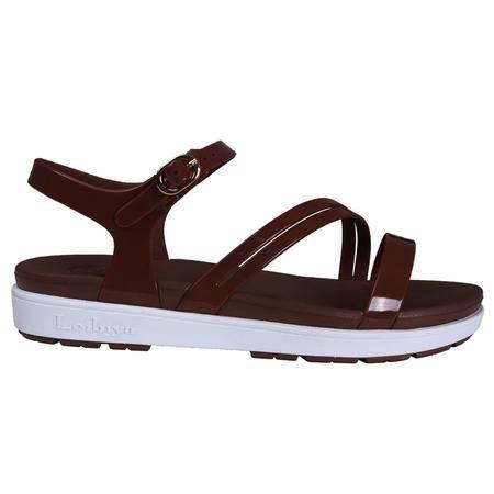 雷比亚新款淑女邻家女孩沙滩鞋女果冻鞋缠脚跟洞洞鞋女凉鞋