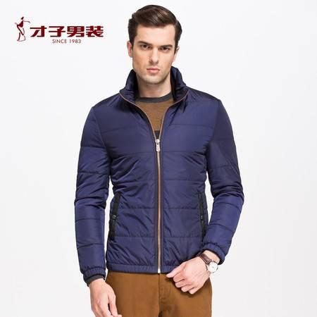 才子男装冬季新款男士青年保暖棉衣服潮加厚保暖棉袄短款外套