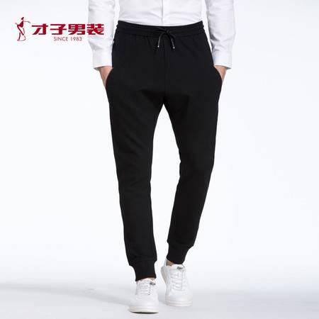 TRiES/才子男装2016年秋季新款男士青年修身针织休闲裤
