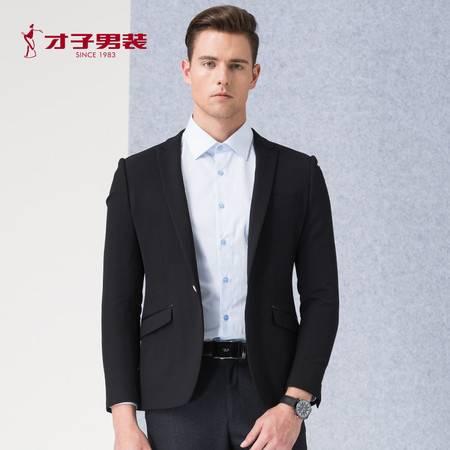 【商场同款】TRiES/才子男装2016秋冬新款黑色西服便西男士修身