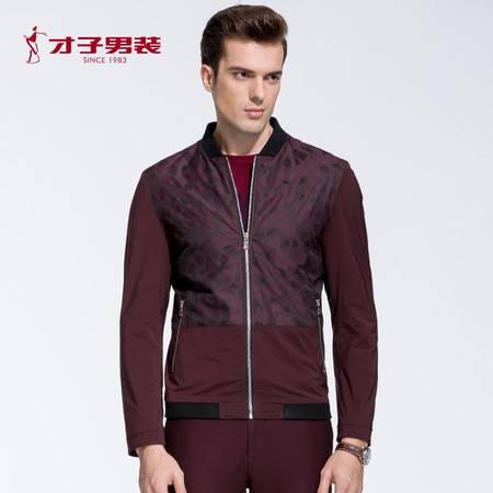 TRiES/才子男装2016秋冬新款男士青年夹克jacket潮流舒适百搭外套