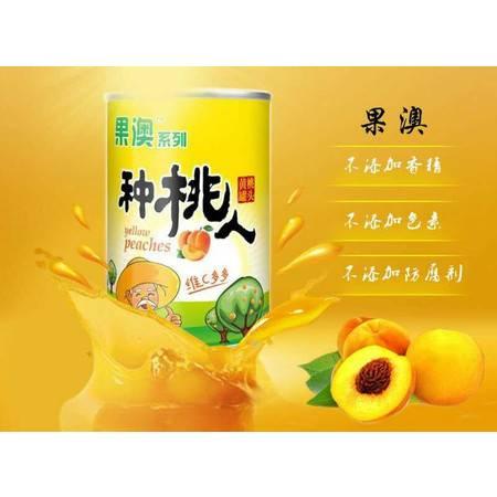 砀山黄桃罐头425g*12罐整箱出口水果食品特产