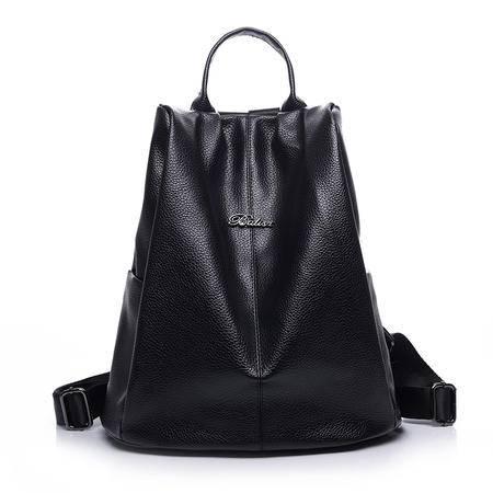 简约气质女式背包双肩包2016夏季新款欧美时尚女包背包通勤百搭包