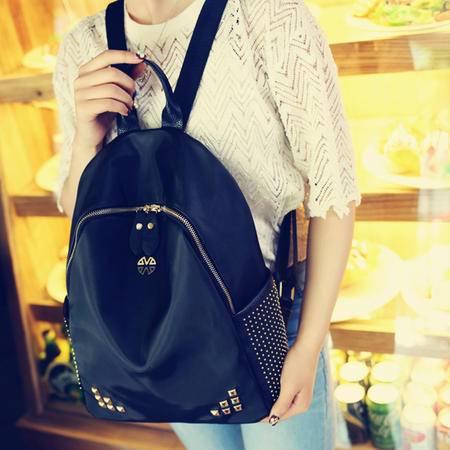 韩版双肩包2016夏季新款女士大容量轻简约学院风背包休闲书包潮包