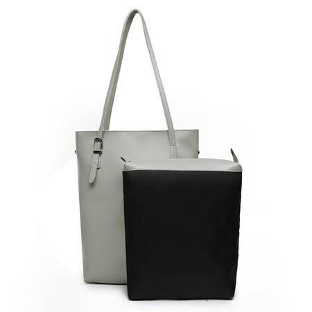 女包包2016秋季新款欧美时尚百搭包大包包子母女包两件套