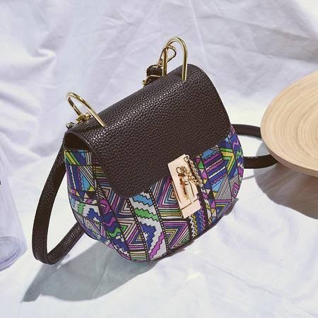 品牌正品包包2016新款欧美时尚女包民族风小猪包单肩小包
