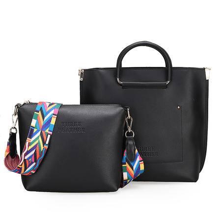 品牌正品包包2016新款欧美时尚女包通勤子母包两件套大包