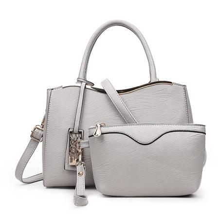 女包包2016秋季新款欧美时尚百搭包气质女包手提包两件套