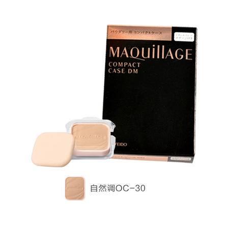 资生堂 MAQuillage/魔力慕斯保湿粉饼 自然调OC-30