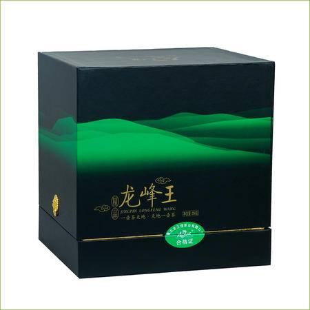 2016明前特级高山云雾茶叶春茶有机绿茶毛尖紫砂罐装龙峰茶礼盒装