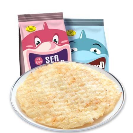 鸿琛 原味鱼干 即食鳕鱼片78g 海产零食休闲特色食品海南特产