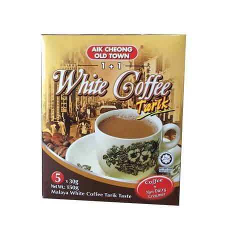马来西亚益昌老街进口速溶1+1二合一无糖白咖啡 150g