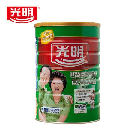 中老年高钙维E奶粉800g