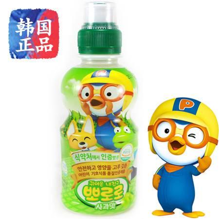 韩国进口饮料 啵乐乐乳酸菌苹果味 啵乐乐营养丰富 235ml