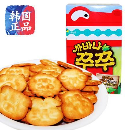 可瑞安可拉奥动物园饼干70g韩国原装进口零食品小猪猪儿童辅食