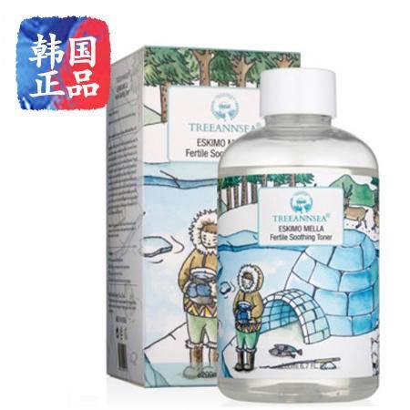 韩国正品进口 TREEANNSEA 爱斯基摩梅拉保湿水 200ml