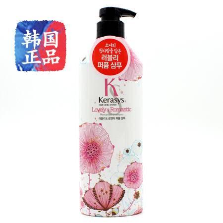 韩国进口爱敬KERASYS/克拉洗丝 lovely香水洗发水600ml