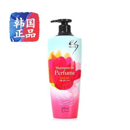 韩国进口Elastine ES茉莉花香水洗发水600ml染烫护理