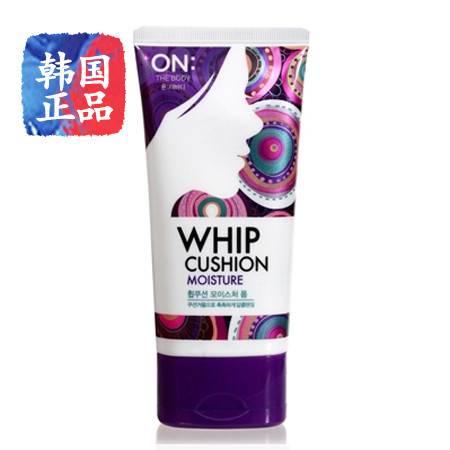 韩国进口LG ON THE BODY洁面稿WHIP CUSHION洗面奶150ml紫色